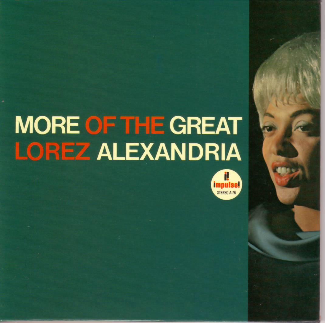 Lorez Alexandria From Broadway To Hollywood